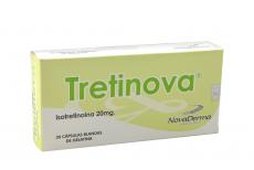 Tretinova 20 mg Caja Con 30 Cápsulas Blandas De Gelatina Rx5