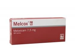 Melcox 7.5 mg Caja Con 10 Tabletas Rx