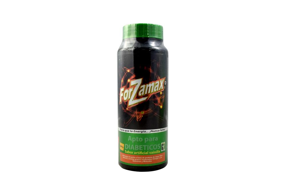 Forzamax Vainilla Diabeticos Frasco Con 400 g