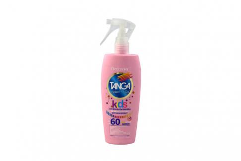 Bloqueador Tanga Crema Kids Wet Skin Effect SPF 60 Frasco Con 150 mL