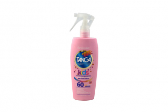 Bloqueador Tanga Crema Kids Wet Skin Effect SPF 60 Frasco Con 150 mL