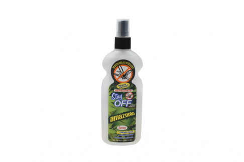 Repelente Stay Off Amazonic Spray Con 120 mL
