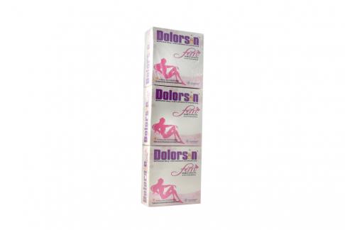 Dolorsin Fem 400 / 20 mg  Caja Con 36 Cápsulas - Pague 2 Lleve 3