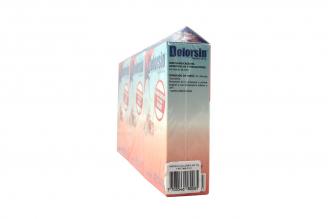 Dolorsin 400 mg 3 Cajas Con 48 Cápsulas Duras c/u Rx