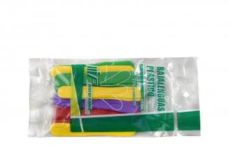 Baja Lenguas Plástico Bolsa Con 20 Unidades