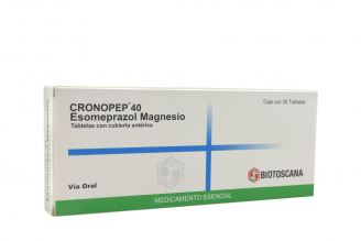 Cronopep 40 mg Caja Con 28 Tabletas Rx