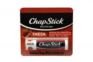 Protector Labial Chap Stick Empaque Con 1 Unidad - Sabor Fresa