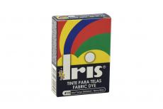 Iris Tinte Para Telas Caja Con Bolsa Con 9 g –  Tono Azul Turquí