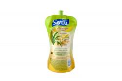 Shampoo Savital Aceite De Argán Frasco Con 350 mL