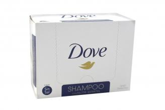 Shampoo Dove Reconstrucción Completa Caja Con 20 Sobres