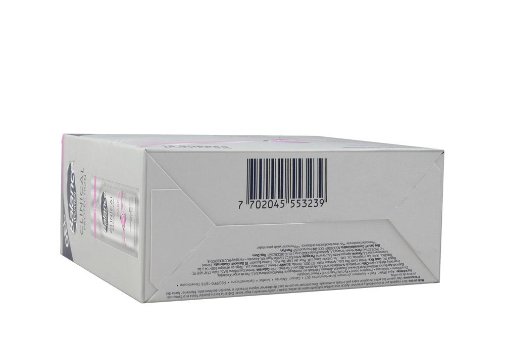 Desodorante Balance Women Clinical Protection Gel Caja Con 18 Sobres