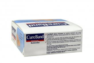 Curas Cureband Premium Redondas Caja Con 100 Unidades