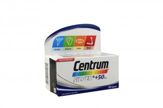 Centrum Silver + 50 Años Caja Con Frasco Con 60 Tabletas
