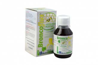 Broncoflux Caja Con Frasco Con 120 mL