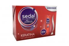 Acondicionador Sedal Keratina Con Antioxidante Empaque Con 20 Sobres Con 18 mL C/U