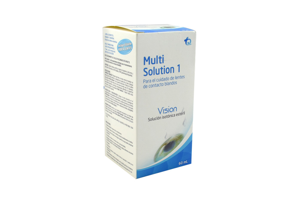 Multisolution 1 Caja Con Frasco Con 60 mL