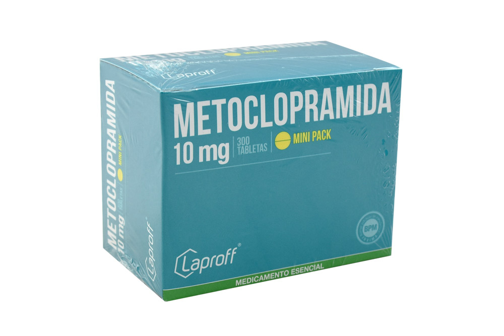 Metoclopramida 10 mg Caja Con 300 Tabletas Rx