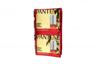 Crema Para Peinar Pantene Rizos Definidos 12 Sobres Con 18 mL C/U