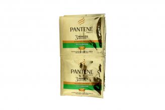 Acondicionador Pantene 3 Min Miracle Restauración 12 Sobres Con 10 mL C/U