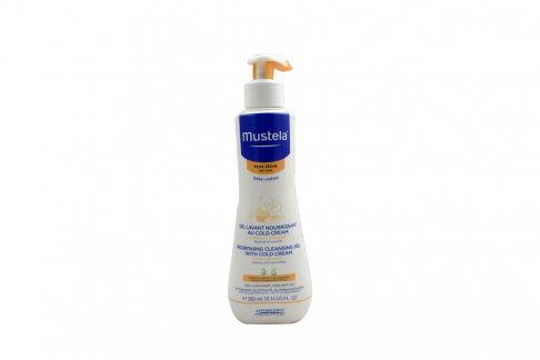Gel De Baño Mustela Frasco con 300 mL