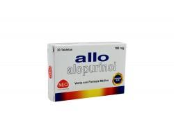 Allo 100 mg Caja Con 30 Tabletas Rx