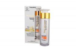 Protector Solar Frezyderm Sun Screen Color Velvet Face Cream SPF 50+ Caja Con Tubo Con 50 mL
