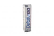 Shampoo Anticaspa Deltafur Duo Caja Con Frasco Con 125 mL