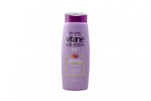 Shampoo Vitane Anticaída Therapy Mujer Frasco Con 400 mL