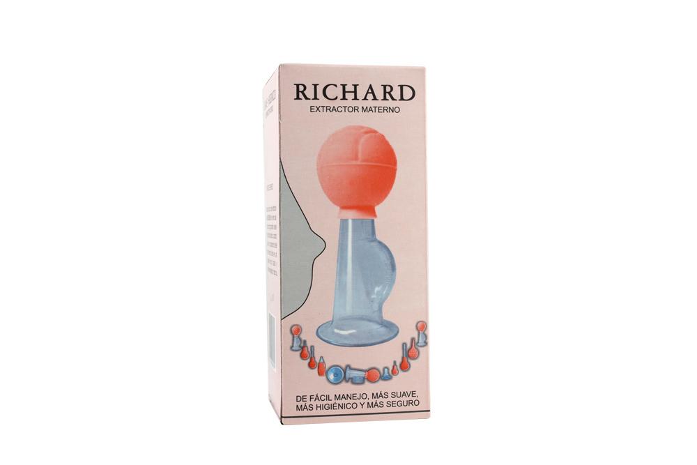 Extractor Materno Vidrio Richard Caja Con 1 Unidad
