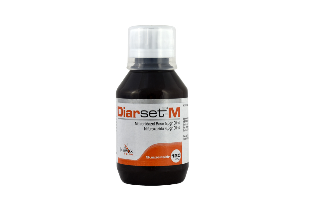 Diarset – M 5.0/4.0 g / 100 mL Suspensión Frasco Con 120 mL Rx2