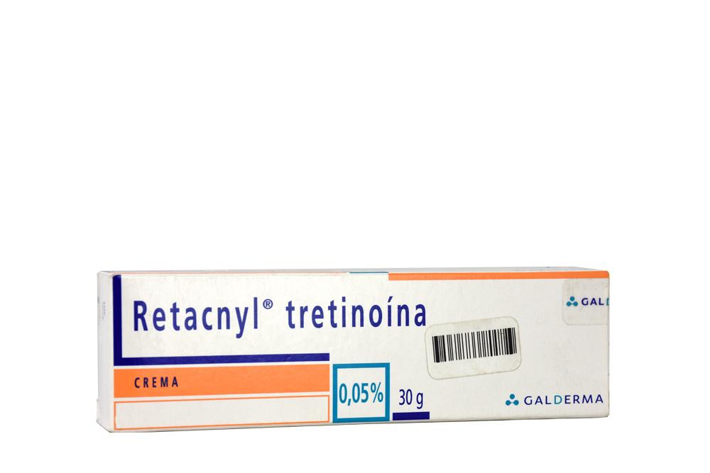 Retacnyl 0.05 % Crema Caja Con Tubo Con 30 g Rx