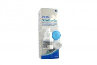 Solución Limpiadora Multi Solution Para Lentes De Contacto Frasco Con 360 mL