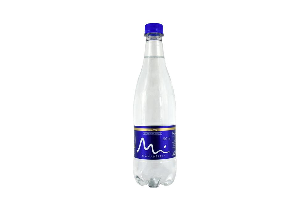 Agua Manantial Frasco Con 600 mL