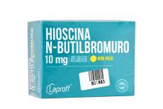 Hioscina Butilbrom 10 mg Caja Con 300 Tabletas Rx4