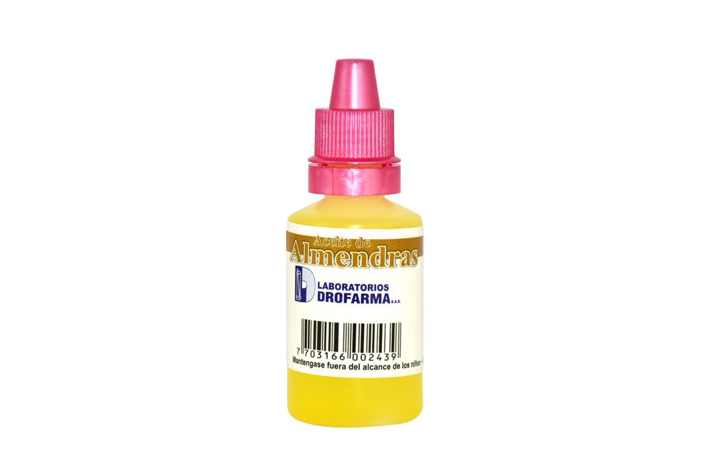 Aceite De Almendras Frasco Con 20 mL