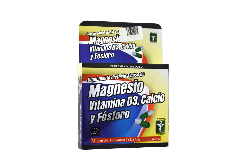 Cloruro De Magnesio Caja Con 30 Cápsulas