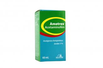 Ametrex Acetaminofén Jarabe 3% Frasco x 60 mL