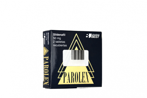 Parolex 50 mg Caja Con 2 Tabletas Rx