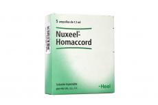 Nuxeel-Homaccord Solución Inyectable Caja Con 5 Ampollas Rx