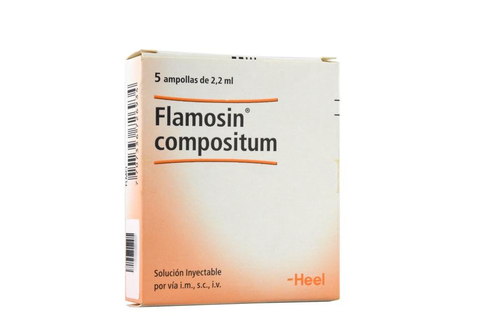 Flamosin Compositum Caja Con 5 Ampollas Rx