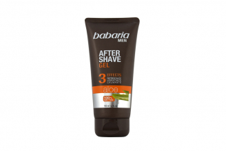 After Shave Gel Babaria Men Aloe Vera 3 Effects Tubo Con 150 mL