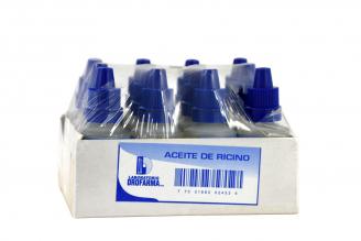 Aceite De Ricino USP Drofarma Empaque Con 12 Unidades Con 20 mL C/U