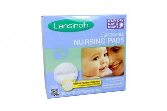 Disposable Nursing Pads (Protectores Mamarios) Caja Con 36 Unidades