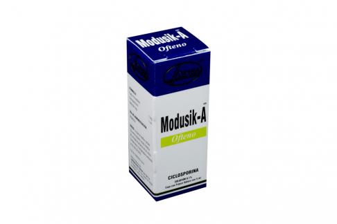 Modusik-A Ofteno 0.1% Frasco Con 5 mL Rx