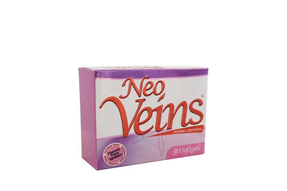 Neo Veins 500 mg Caja Con 30 Cápsulas Rx Rx4