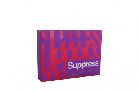 Suppress Caja Con 30 Cápsulas De Gelatina