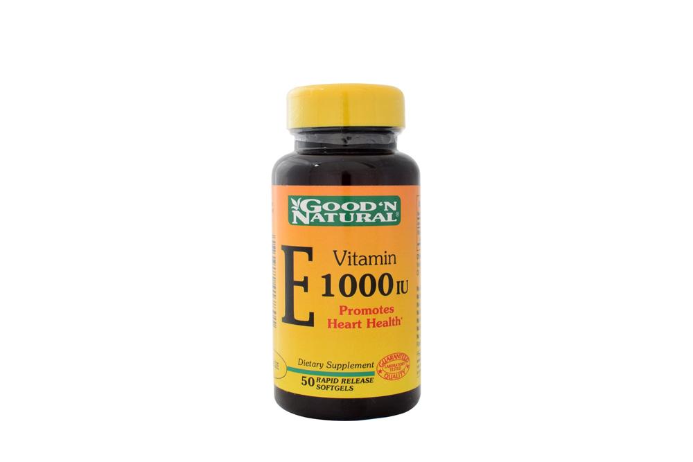 Vitamina E 1000 Good'N Natural Frasco Con 50 Cápsulas
