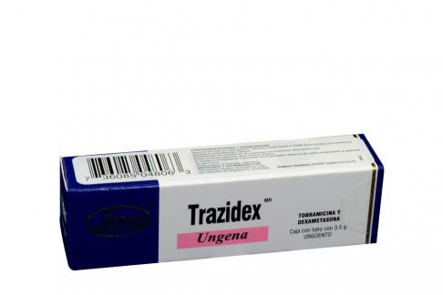 Trazidex Ungena 300 / 100 mg Caja Con Tubo Con 3,5 g Rx Rx2