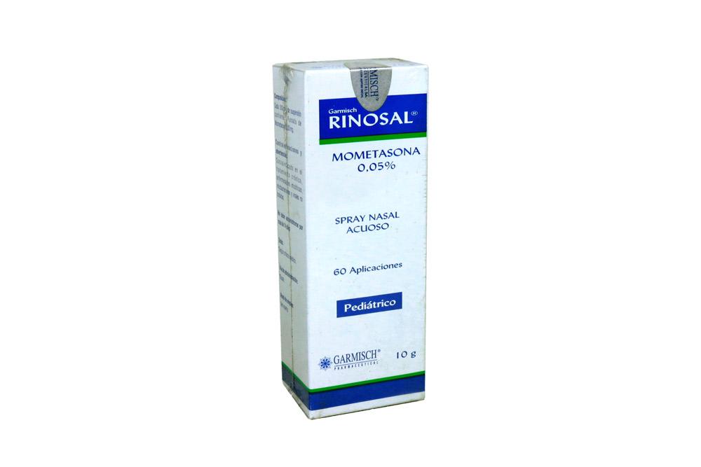 Garmisch Rinosal Spray Nasal 0.05 % Caja Con Frasco Con 10 g Rx