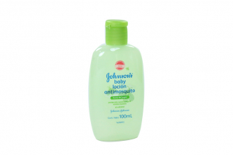Loción Antimosquitos Johnson's Baby Frasco Con 100 mL